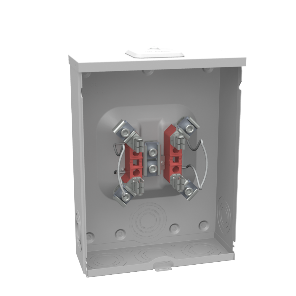 MIM U7040-XL-TG 200A Meter Socket APPROVED FOR PEPCO Overhead & Underground