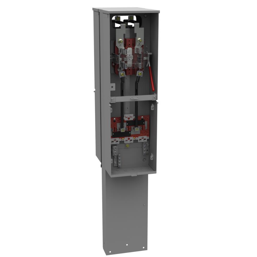 Milbank U4323 O 5t9 Meter Pedestal Gordon Electric