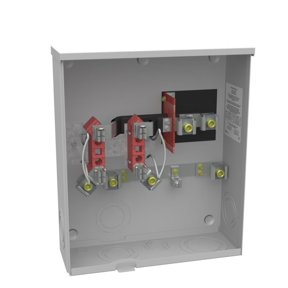 Secondary Electric Meter : Milbank u o a t meter socket gordon electric